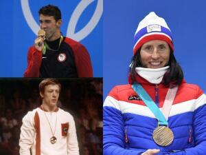 El Top 5 de atletas con más medallas olímpicas tiene un nuevo nombre