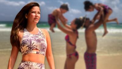 Ana Patricia entrena sin parar en el paraíso: mira la fortaleza que ha tenido para seguir sus rutinas durante las vacaciones familiares