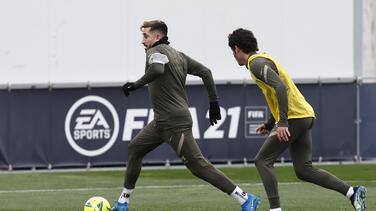 Héctor Herrera no estuvo en la práctica del Atlético de Madrid