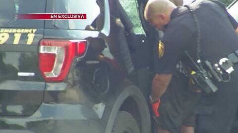 Operativo y persecución de la policía de San Antonio terminó con la captura de presuntos asaltantes