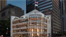Así luce el Starbucks más grande del mundo que abrió en Chicago