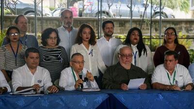 Reanudan el diálogo en Nicaragua sin respaldo estudiantil y bajo sanciones europeas