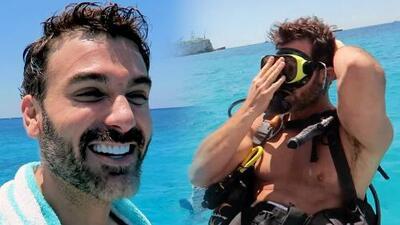 Mauricio Mejía quiso celebrar su cumpleaños buceando, pero casi se ahoga
