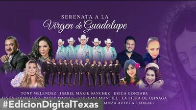 Todo listo para la serenata a la Virgen de Guadalupe este 11 de diciembre