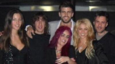 Shakira y Piqué celebraron juntos