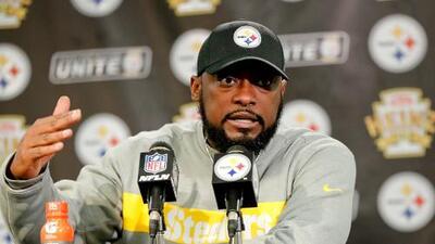 Tomlin busca que Steelers se concentren pese a la presión de quedar fuera
