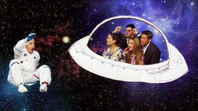 William Valdés recordó el día en que se convirtió en astronauta