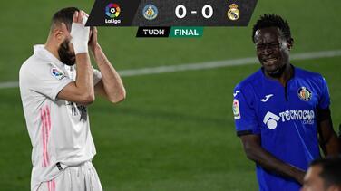 Se atascaron: Real Madrid no pudo con el Getafe y se rezaga en la cima