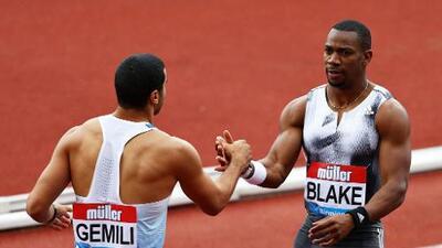 Blake y Miller-Uibo, reyes de la velocidad en Birmingham