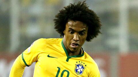 """Willian, de Brasil, confía en la Argentina: """"Tiene grandes chances de clasificar al Mundial"""""""