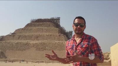 Luis Sandoval durante el 2017 le dio la vuelta al planeta, pero recordemos su increíble viaje a Egipto