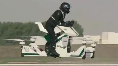 De película: la policía de Dubai perseguirá a malhechores en drones tripulados