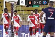 Mónaco humilla al PSG con espectacular remontada