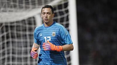Messi va a la selección de Argentina; Marchesín y Guido lo acompañan