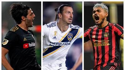 Vela, 'Ibra' y Josef: protagonistas de una explosiva carrera por el Botín de Oro en MLS