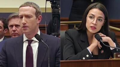 """Alexandria Ocasio-Cortez """"puso contra la pared"""" a Mark Zuckerberg: analizamos su cara a cara en el Congreso"""