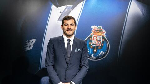 """Iker Casillas tras renovar con el Porto: """"Tenía esa ilusión de terminar aquí mi carrera"""""""