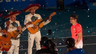 Acapulco despide a David Ferrer como El Rey