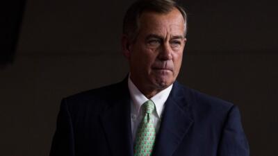 Boehner respalda al gobernador John Kasich días antes de las primarias de Ohio