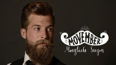 Llego la temporada de bigotes: Movember, el pelo que representa la fuerza masculina