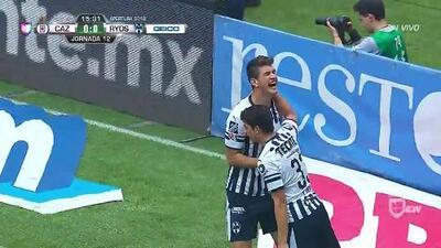 ¡GOOOL! César Montes anota para Monterrey