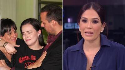 """""""Como debe ser, abrazados y unidos"""": Karla Martínez celebra la imagen de reconciliación de los hijos de José José"""