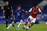Arsenal se impone ante el Chelsea por la mínima con anotación de Emile Smith Rowe al minuto 16, durante el Derby del norte de Londres. Los 'Gunners', con este resultado, siguen buscando puestos en la Europa League.