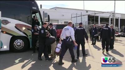 Regresan a Filadelfia los bomberos que viajaron a ayudar a víctimas del huracán Michael