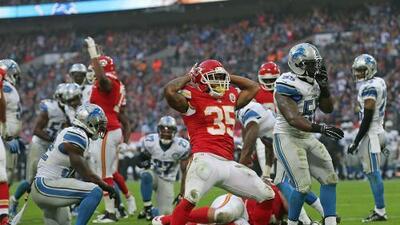 Chiefs 45-10 Lions: Por tierra y por aire Kansas City dominó a Detroit en Londres