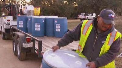 Este viernes dejará de funcionar el pozo de agua que abastece a familias de una comunidad en Denton