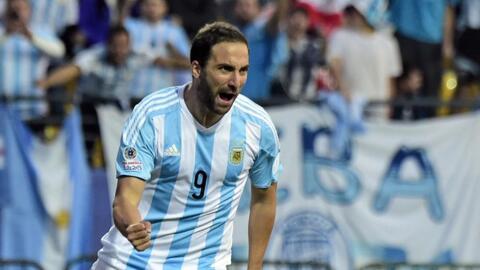 Gonzalo Higuaín dice adiós a la selección argentina