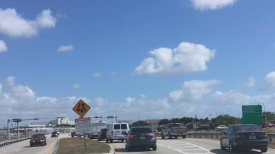 Cierran parcialmente un tramo del Perimeter Road, la carretera que bordea el aeropuerto de Miami