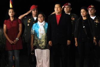 Las mujeres de Hugo Chávez