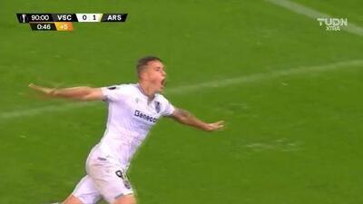 ¡Gol salvador! Bruno Duarte rescató empate para el Vitoria