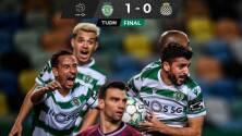 Sporting de Lisboa deja sin título al Porto de Tecatito Corona