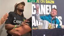Demetrius Andrade reta e insulta a Canelo por una pelea
