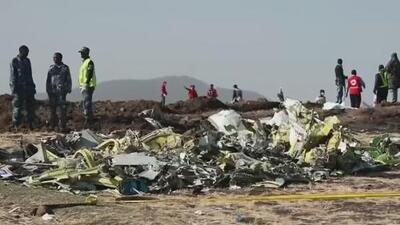 Encuentran la caja negra tras el accidente aéreo en el que murieron 157 personas en Etiopía