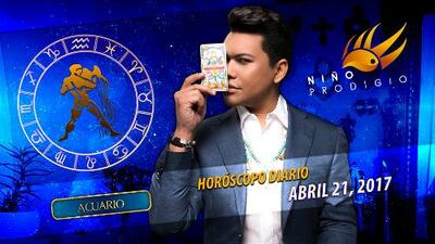 Niño Prodigio - Acuario 21 de abril 2017