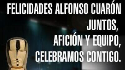 Chivas felicita a los mexicanos ganadores del Oscar