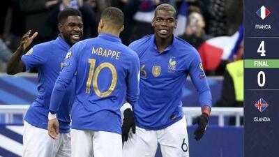 Francia y un gran Mbappé consumaron el triunfo