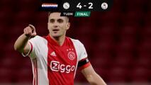 Edson Álvarez aportó una asistencia en triunfo del Ajax