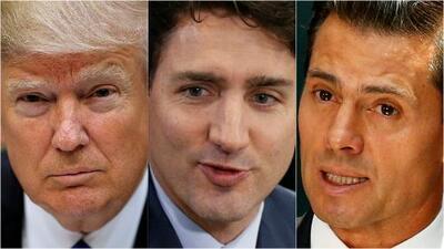 Trump lanza el proceso para renegociar el NAFTA