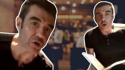 ¿Cambia de profesión? Adrián Uribe sorprende como 'mesero' en Madrid