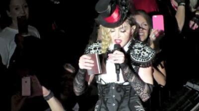 Madonna sacó las garras y reveló si cantó ebria