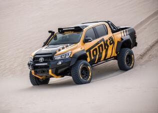 La Toyota HiLux Tonka Concept en imágenes