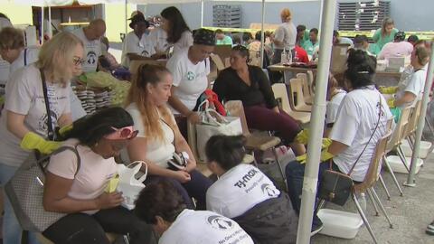 En Viernes Santo, desamparados de Miami reciben atención médica, alimentos y vestimenta