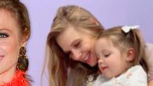 Ana Layevska muestra el avance de su hija Masha, de 2 años, al intentar hablar ruso