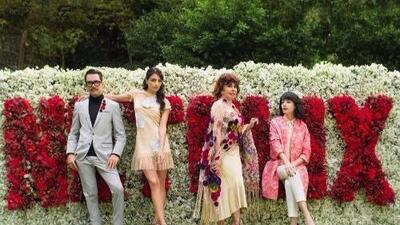 Inició el rodaje de la serie 'La casa de las flores' protagonizada por Verónica Castro