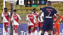 Mónaco vence al PSG con remontada de humillación