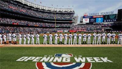 Con el juego Yankees vs. Orioles, inicia la temporada de las Grandes Ligas